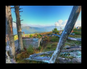 Vue depuis le sommet du Narion