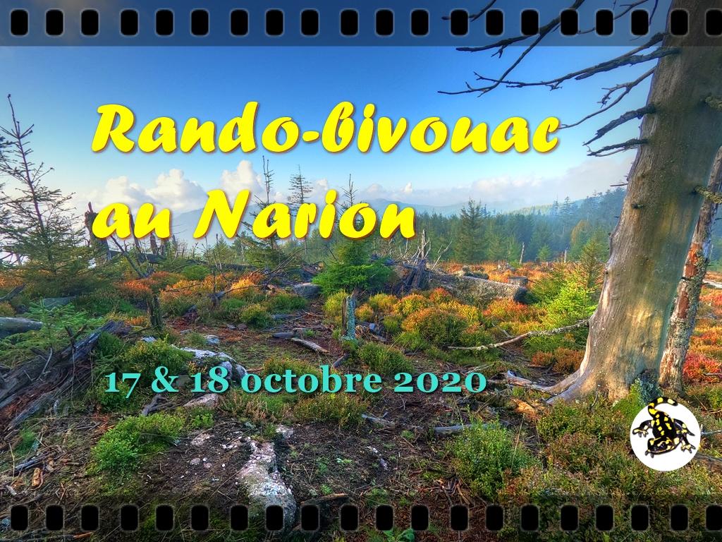 Rando-bivouac au Narion - la vidéo